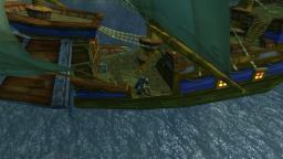 Holzplanke sei wachsam
