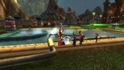 Poolparty mit Gästen