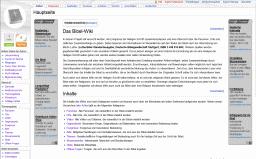Screenshot: Bibel-Wiki