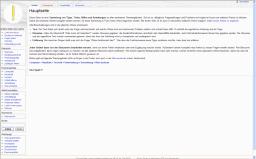 Screenshot: Hilfen und Anleitungen
